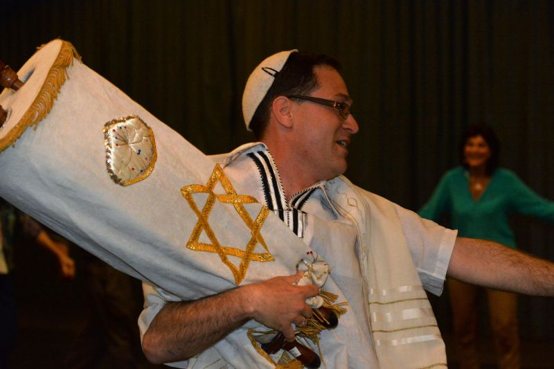Dancing at Simchat Torah